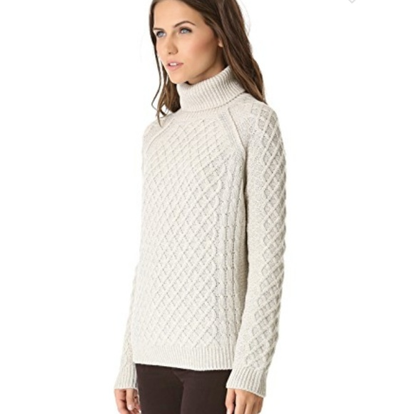d595a857b73 ... Turtleneck Cable Knit Sweater Cloud. M 5bd7bf30819e9043ae06dc9d